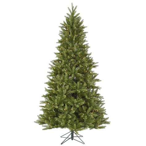 15 foot bradford pine christmas tree all lit lights a123596