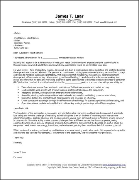Resume Cover Letter by Professional Resume Cover Letter Sle Sle Resumes
