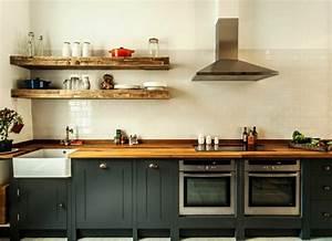 Etagere De Rangement Cuisine : cuisine en palette elegant ilot central de cuisine bar en bois de palette with cuisine en ~ Melissatoandfro.com Idées de Décoration