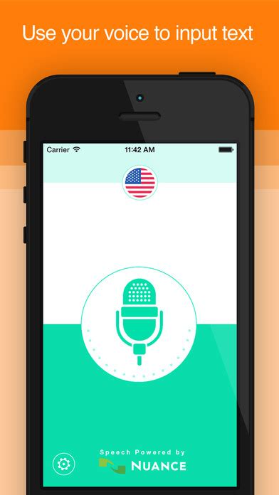 voice to text iphone active voice speech to text on the app