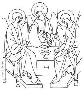 holy trinity coloring page  getdrawings
