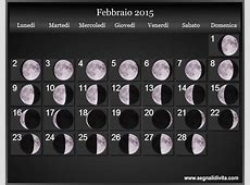 Calendario Lunare 2015 Fasi lunari