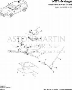 Antenne  U00e9lectronique Aston Martin V8 Vantage - Documentations Techniques