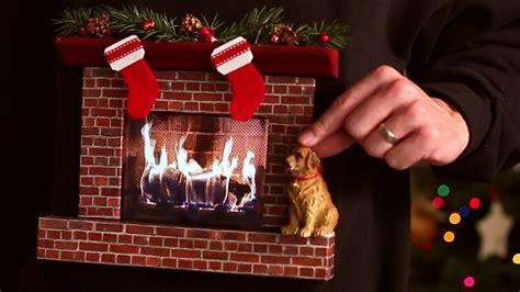 burning fireplace ugly christmas sweater   ipad