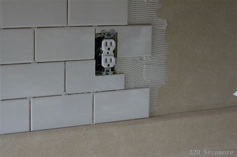 how to install backsplash in kitchen how to install subway tile diy ideas