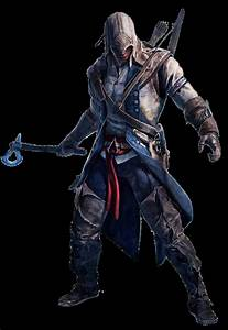 Assassins Creed III - Connor Render by Crussong on DeviantArt
