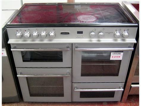 master cuisine leisure silver cuisine master 100 electric range cooker