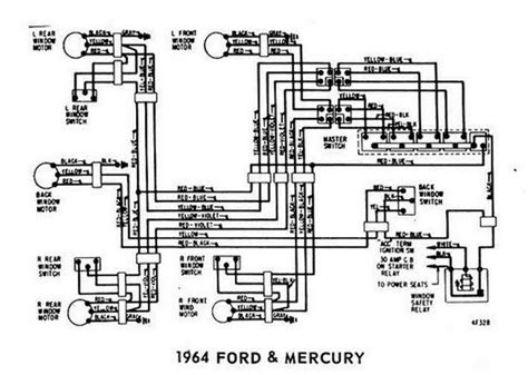 1963 Comet Wiring Diagram by Windows Wiring Diagram For 1964 Ford Mercury All About