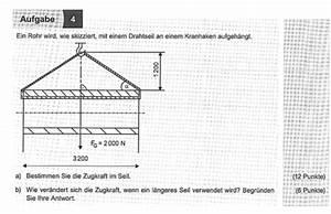 Seilkraft Berechnen : zugkraft im seil mit skizze ~ Themetempest.com Abrechnung