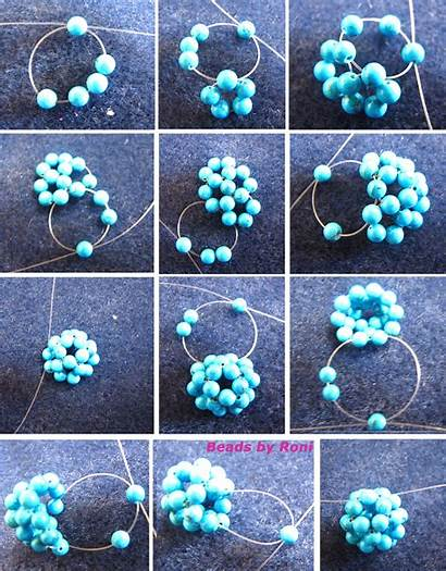 Beaded Ball Tutorial Bead Beading Beads