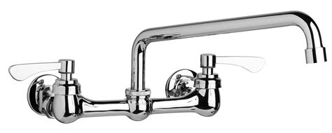 commercial  handle wall mount kitchen faucet gerber
