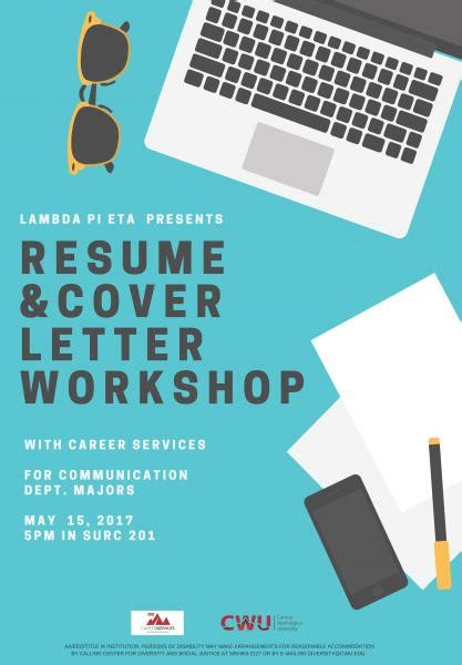 Sle Resume Workshop Flyer by Communication News Archive