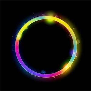 Neon circle free vector 5 404 Free vector for