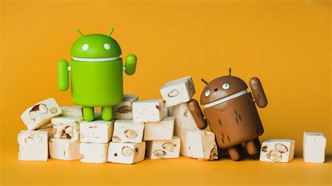 android with android nougat quels smartphones et tablettes auront la