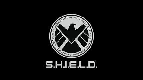 agents  shield logo black wallpaper   agents