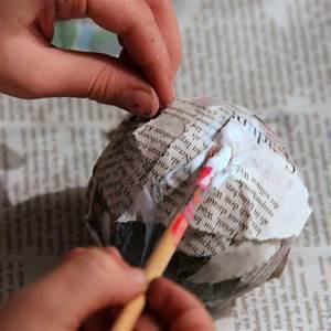 Basteln Mit Alten Weihnachtskugeln : christbaumkugeln aus papier diy ~ Whattoseeinmadrid.com Haus und Dekorationen