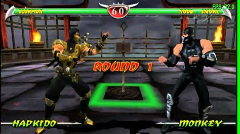 Ppsspp Android Mortal Kombat Unchained Gameplay Youtube