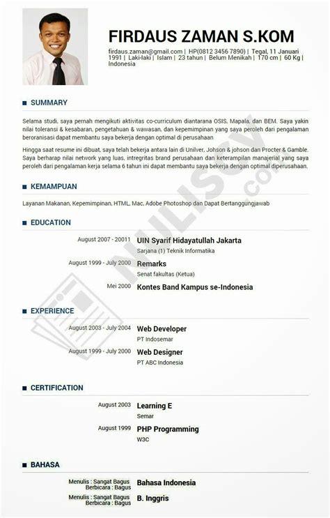Curriculum Vitae Curriculum Vitae Untuk Sales