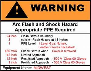 arc flash hazard guide arc flash program With arc flash hazard sticker