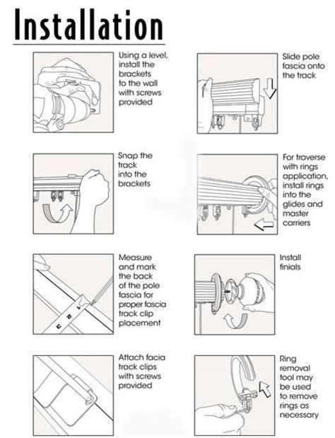 restringing traverse rod instructions website of desugale