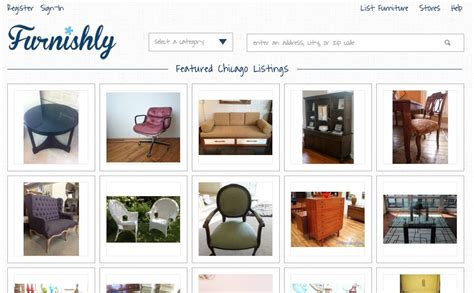 selling used furniture furnishly the online market for fine local furniture techli