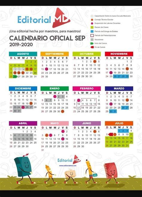calendario escolar ciclo sep descargalo en