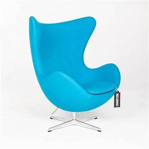 Fritz Hansen Egg Chair : fritz hansen egg chair en ottoman turqouise ~ Orissabook.com Haus und Dekorationen