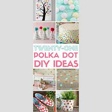 21 Polka Dot Pattern Diy Ideas  The Crafty Blog Stalker
