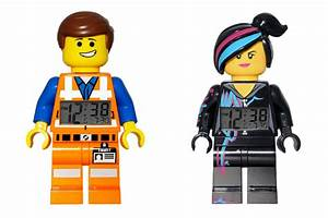 Wake up with the Lego Movie Minifigures As clocks - Cool
