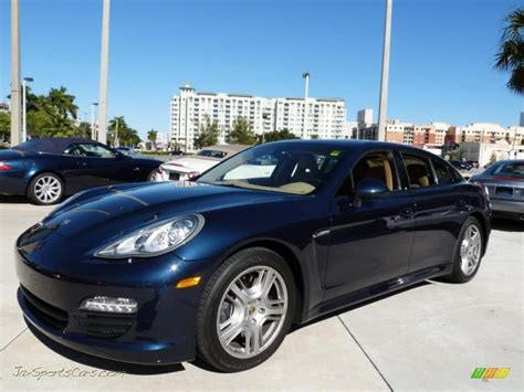 porsche panamera dark blue 2011 porsche panamera v6 in dark blue metallic 014278