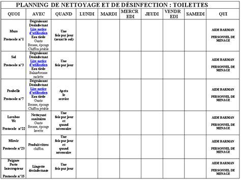 haccp cuisine toilettes