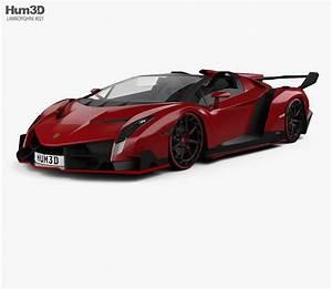 Lamborghini Veneno Roadster : lamborghini veneno roadster 2014 3d model vehicles on hum3d ~ Maxctalentgroup.com Avis de Voitures