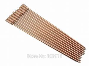 10 Pcs  Lot Of 40cm Copper Heat Pipe  For Solar Water