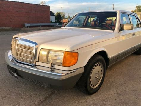 how does cars work 1988 mercedes benz s class parking system 1988 mercedes benz 500 series 560 sel w 126 s class classic 1988 mercedes benz 500 series for sale
