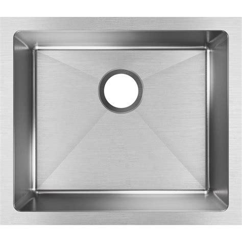 single stainless steel kitchen sink elkay crosstown undermount stainless steel 22 in single 7965
