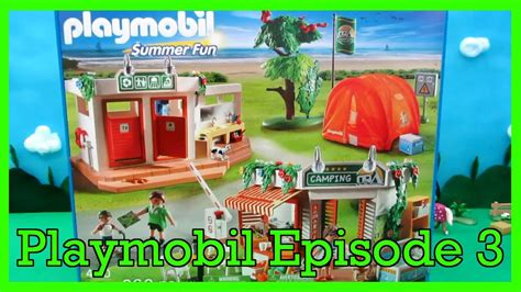 Playmobil Unboxing Summer Fun Camp Site (#5432) Youtube