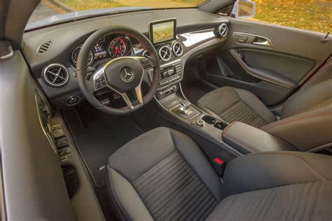 Take a look inside the mercedes amg cla 45 interior. 2014 Mercedes-Benz CLA45 AMG - interior photo, seats, size 2048 x 1367, nr. 30/37 - RSsportscars.com