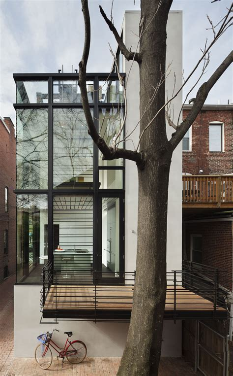 Modern Washington D.C. Row House   iDesignArch   Interior