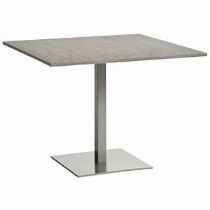 Table Cuisine Carrée : table carree 120x120 maison design ~ Teatrodelosmanantiales.com Idées de Décoration