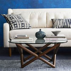 spindle coffee table west elm With spindle coffee table