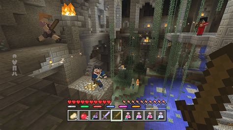 minecraft battle mini game launched  xbox   week