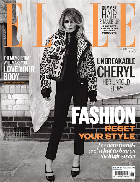 Cheryl Cole - Elle Magazine (UK) - August 2014 Issue ...