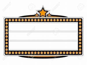 Marquee clipart clipart collection movie marquee for Theatre sign clipart