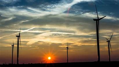 Wind Turbine Wallpapers Energy Background Backgrounds 4k
