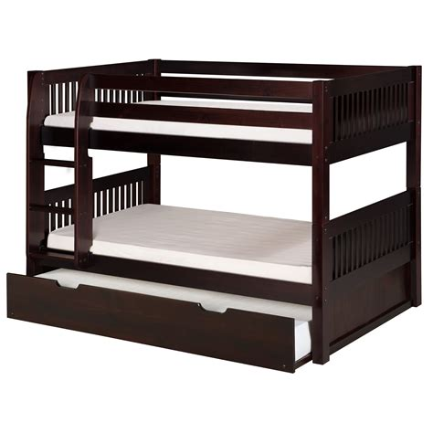 trundle bed with camaflexi camaflexi twin bunk bed with trundle reviews