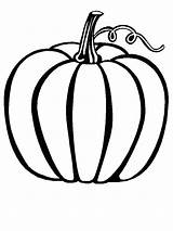 Coloring Pages Gourd Getcolorings Autumn sketch template