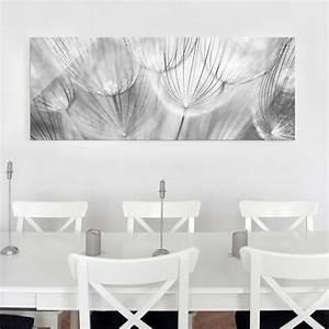 Glasbild Schwarz Weiß : glasbild pusteblumen makroaufnahme in schwarz weiss ~ A.2002-acura-tl-radio.info Haus und Dekorationen