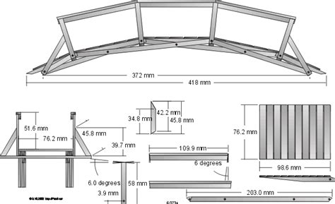 pdf diy wooden footbridge plans classic wooden