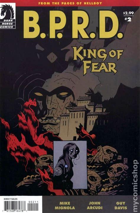 bprd king of fear 2010 comic books