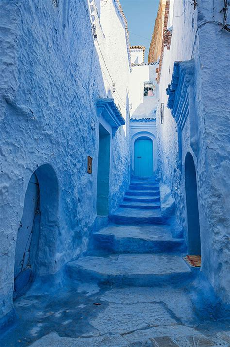 absolutely incredible blue city   straight